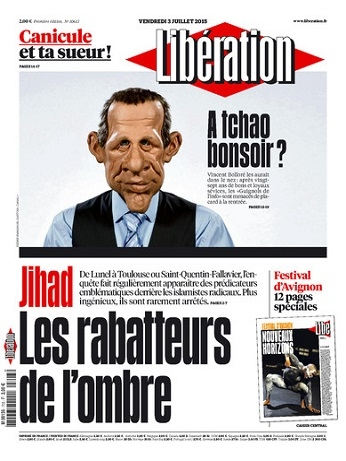 Liberation du Vendredi 3 Juillet 2015