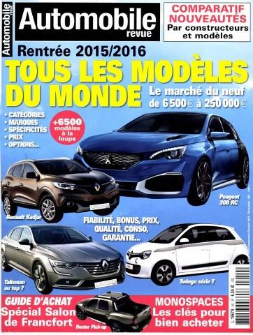 Automobile revue 50 - Rentrée 2015-2016
