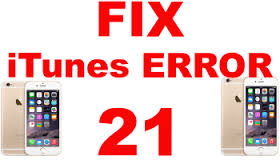 Fix Error 21 on an iPad