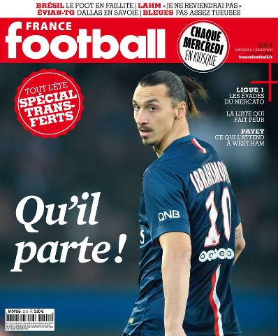 France Football du Mercredi 1 Juillet 2015