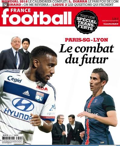 France Football 3614 du mercredi 29 juillet 2015