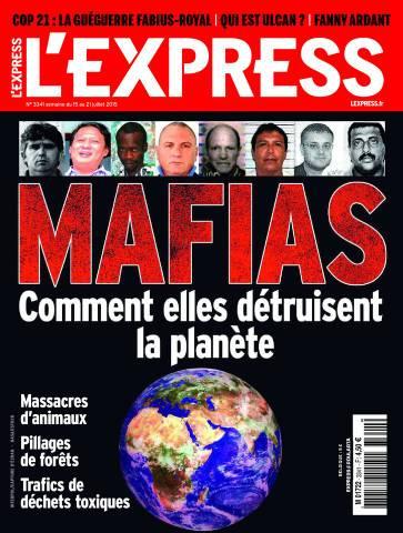 L'Express 3341 - 15 au 21 Juillet 2015