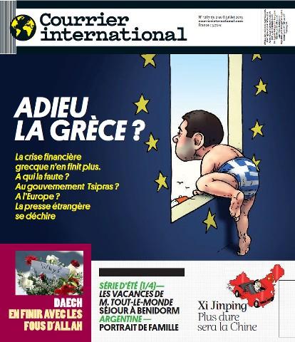Courrier International 1287 - 2 au 8 Juillet 2015