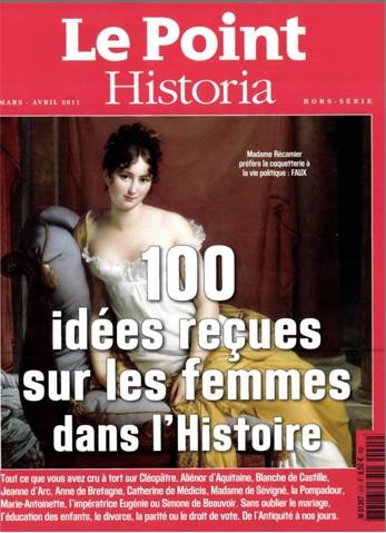 Le Point Historia HS 5 - 100 idées reçues sur les femmes dans l'histoire