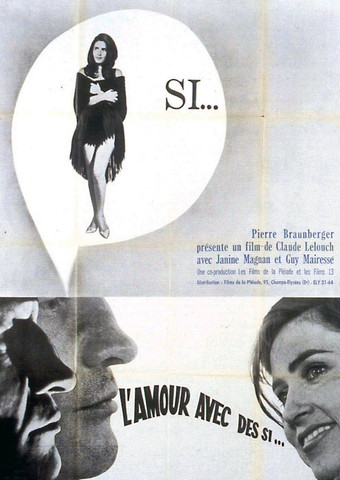 amouravecdessi Claude Lelouch   LAmour avec des si AKA In the Affirmative (1962)