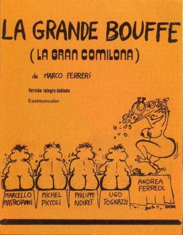 poster3k Marco Ferreri   La Grande Bouffe (1973)