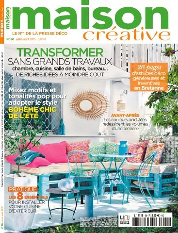 Maison Créative 88 - Juillet-Aout 2015