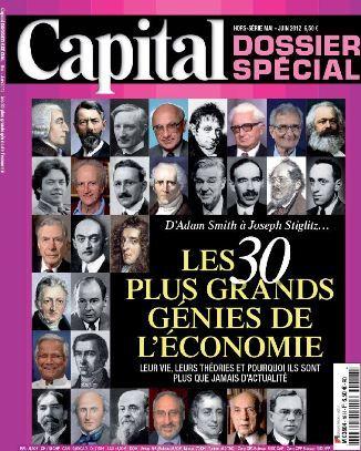 Capital HS 18 - Les 30 plus grands génies de l'économie