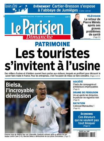 Le Parisien + Envies d'été du Dimanche 9 Août 2015