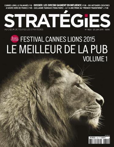 Stratégies - 25 Juin 2015