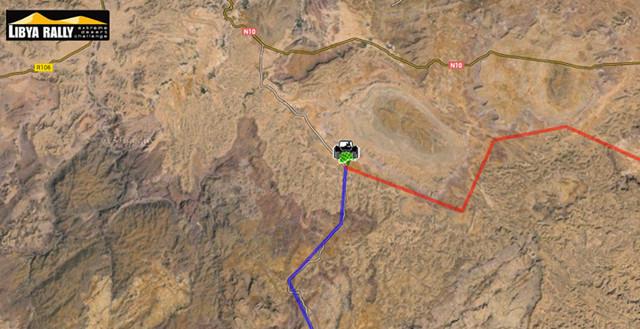 Tim Coronel Maxxis Dakar Libya RAlly SS6
