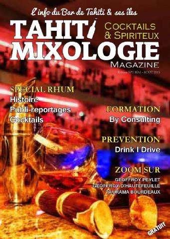 Tahiti Mixologie Magazine - Mai-Aout 2015