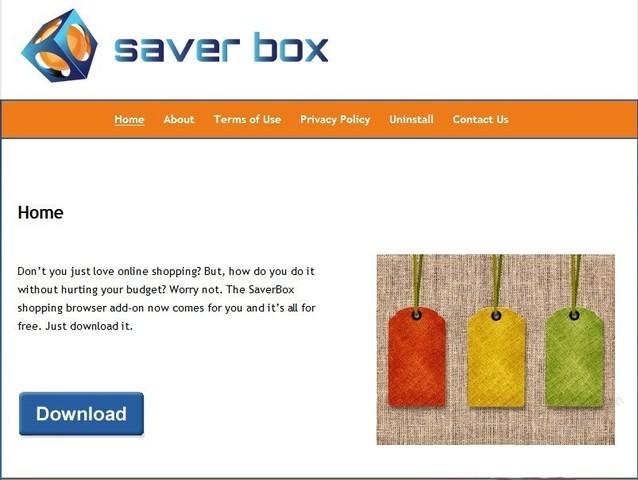SaverBox popup