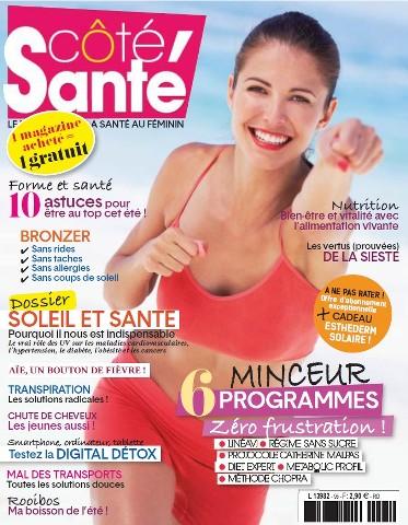 Côté Santé - Juillet-Août 2015