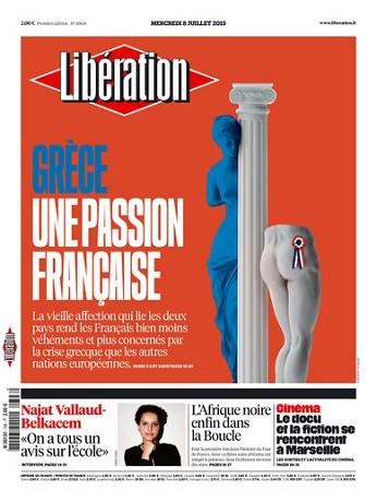 Liberation Du Mercredi 8 Juillet 2015