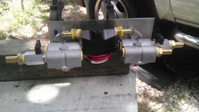 Custom Lift Pump Install