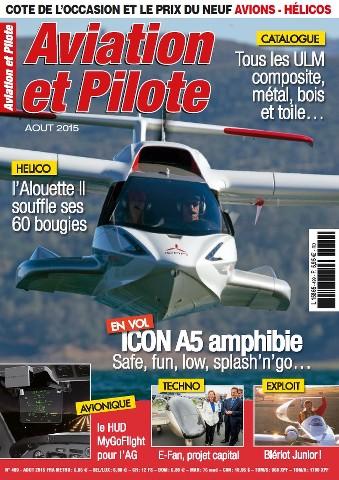 Aviation et Pilote - Août 2015