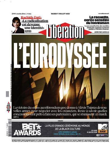 Libération du Mardi 7 Juillet 2015