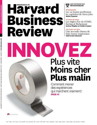 Harvard Business Review France 10 - Août-Septembre 2015