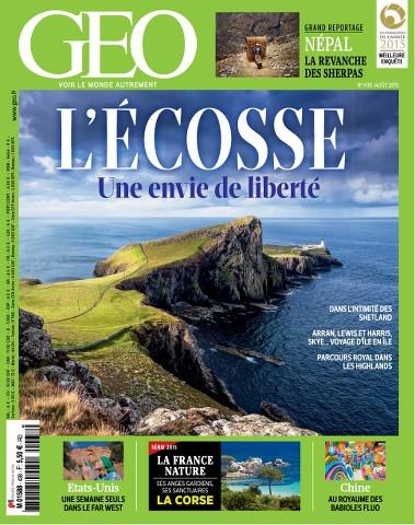 Geo 438 - Août 2015