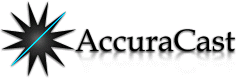 Accuracast in London Logo
