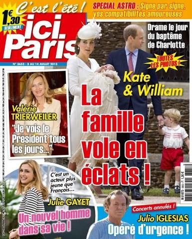 Ici Paris 3653 - 8 au 14 Juillet 2015