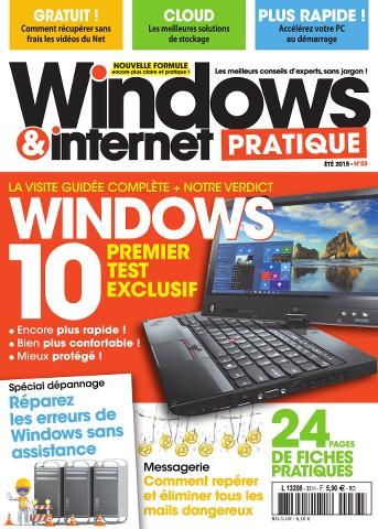 Windows & Internet Pratique 33 - Été 2015