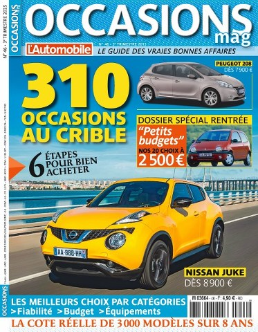 L'Automobile Occasions 46 - 3éme Trimestre 2015