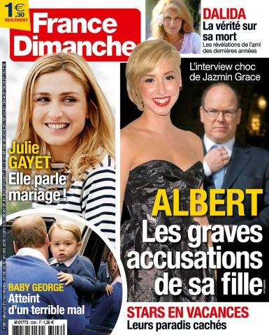 France Dimanche 3596 - 31 Juillet 2015 au 6 Août 2015