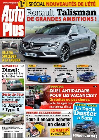 Auto Plus 1401 - 10 au 16 Juillet 2015