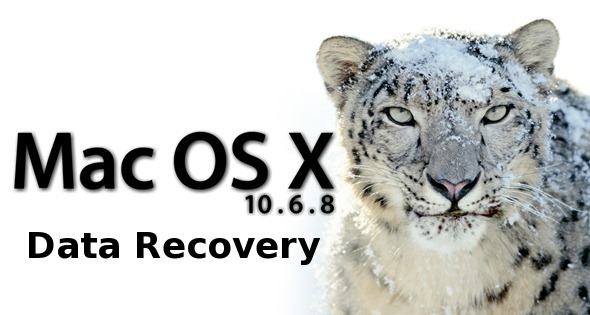 Mac OS X 10.6.8 data recovery