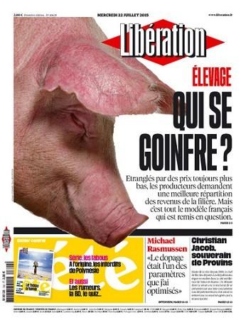 Liberation Du Mercredi 22 Juillet 2015