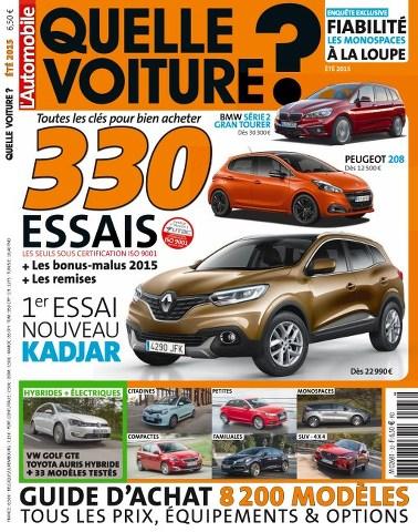 L'Automobile magazine HS Quelle Voiture ? 60 - ètè 2015