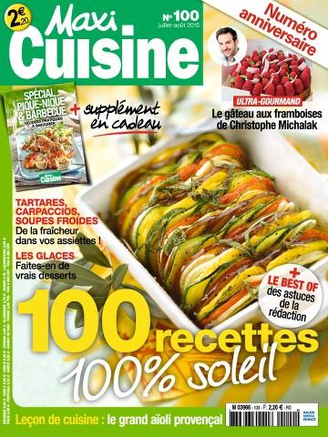 Maxi Cuisine 100 - Juillet-Août 2015