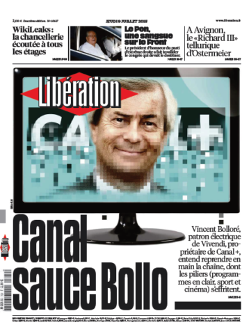 Liberation Du Jeudi 9 Juillet 2015