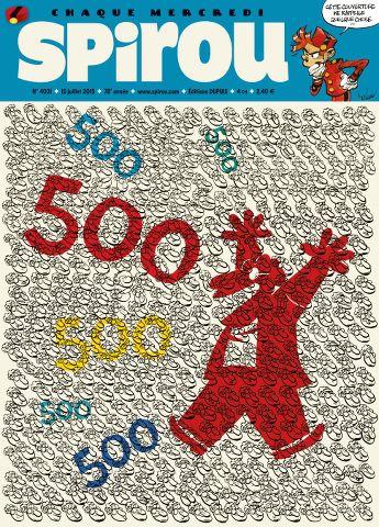 Le Journal de Spirou 4031 - 15 au 21 Juillet 2015