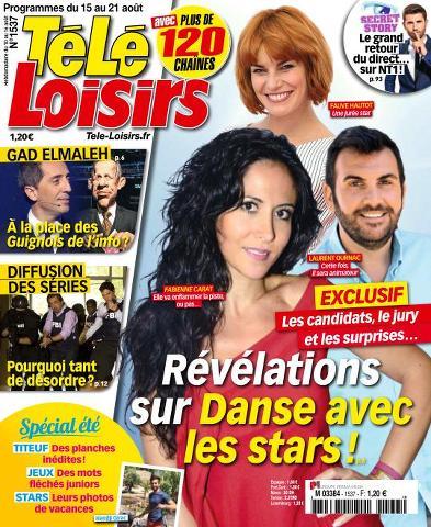 Télé Loisirs 1537 - 15 au 21 Août 2015