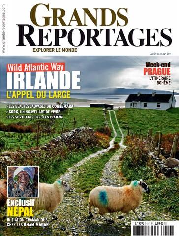 Grands Reportages 409 - Août 2015