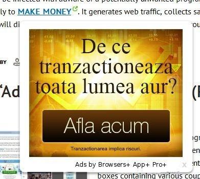 Los anuncios por Navegadores + App + Pro +