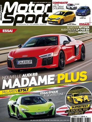 Motorsport 65 - Aout/Septembre 2015