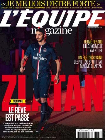 L'Equipe Magazine 1724 du samedi 01 aout 2015