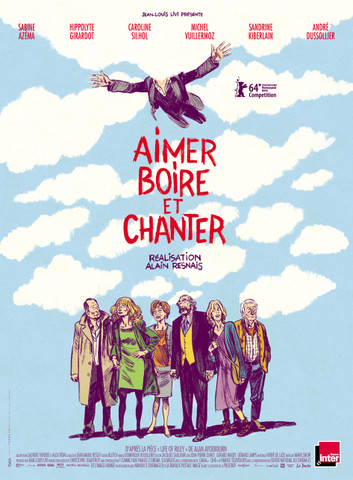moaScl Alain Resnais   Aimer, boire et chanter AKA Life of Riley (2014)