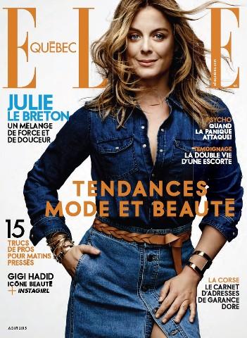 Elle Quebec - Août 2015