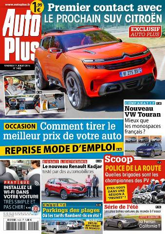 Auto Plus 1402 - 17 au 23 Juillet 2015