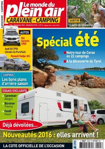 Le Monde du Plein-Air 125 - Août-Septembre 2015