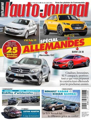 L'Auto Journal 936 - 25 Juin au 8 Juillet 2015