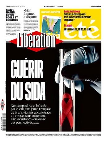 Liberation Du Mardi 21 Juillet 2015