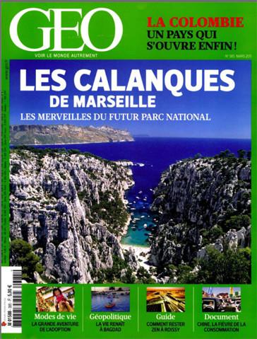 Géo 385 - Les calanques de Marseille