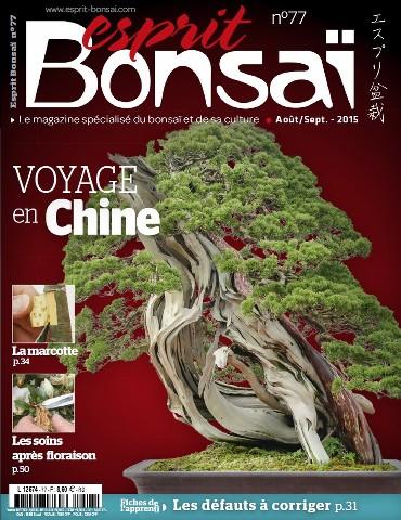 Esprit Bonsai - Août-Septembre 2015