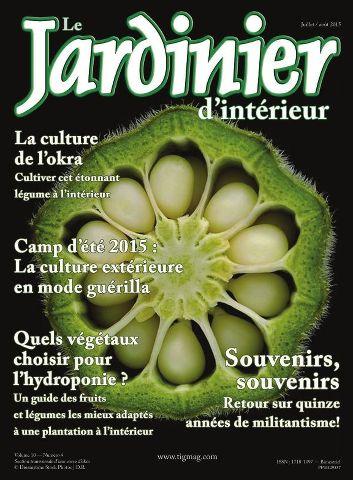Le Jardinier d'intérieur - Juillet/Août 2015